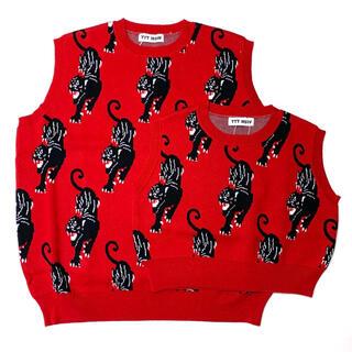 コモリ(COMOLI)のTTT_MSW Panther Knit Vest 【新品】(ベスト)