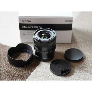 SIGMA - 保証有SIGMA 24mm F2 DG DN Contemporary ソニーE
