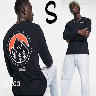 コロンビア(Columbia)のColumbia コロンビア ロンt 長袖 海外限定 黒 ブラック 海外Sサイズ(Tシャツ/カットソー(七分/長袖))