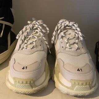 Balenciaga - balenciaga トリプルS スニーカー 靴 size41