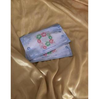 ディーエイチシー(DHC)のDHC ダブルモイスチャア マスク シート美容パック 2枚セット 浸透(パック/フェイスマスク)