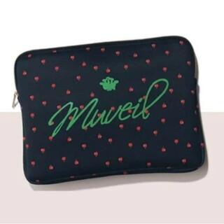 ミュベールワーク(MUVEIL WORK)のBAILA 付録 りんご柄ボンディングケース(ポーチ)