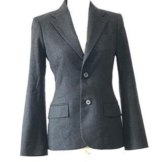 ラルフローレン(Ralph Lauren)の美品ラルフローレン、羊毛、カシミヤ、アンゴラ混格好いいテーラードジャケット 。M(テーラードジャケット)