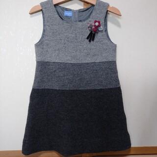 familiar - familiar ジャンパースカート 100㎝