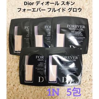 Dior - Dior ディオール スキン フォーエヴァー フルイド グロウ 1N 5包
