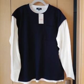 ビームス(BEAMS)の重ね着風 ロンT BEAMS HEART サイズM(Tシャツ/カットソー(七分/長袖))