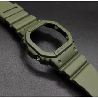 G-SHOCK - 新品 G-SHOCK DW5600 補修用 純正ベゼルバンドセット グリーン