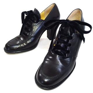 フェンディ(FENDI)の【FENDI レザー シューズ】フェンディ 靴 レディース(ローファー/革靴)