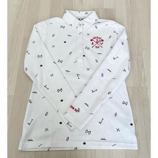 adidas - adidas golf アディダス ゴルフ レディースBD長袖ポロシャツサイズM