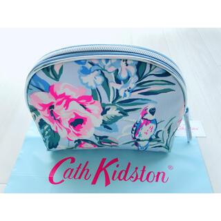 キャスキッドソン(Cath Kidston)の【新品】キャスキッドソン ハーフムーン メイクアップバッグ トロピカルガーデン(ポーチ)