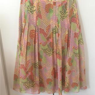 ホコモモラ(Jocomomola)のホコモモラ シフォンスカート M(ひざ丈スカート)