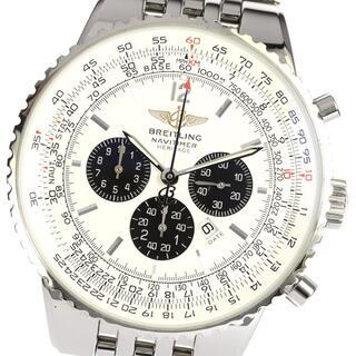 ブライトリング(BREITLING)のブライトリング ナビタイマー ヘリテージ A35340 メンズ 【中古】(腕時計(アナログ))