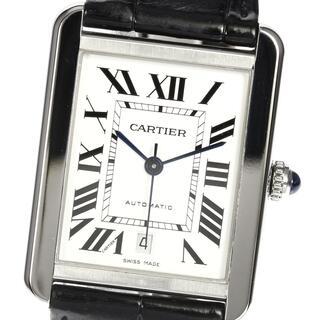 カルティエ(Cartier)の☆良品  カルティエ タンクソロXL デイト WSTA0029 メンズ 【中古】(腕時計(アナログ))