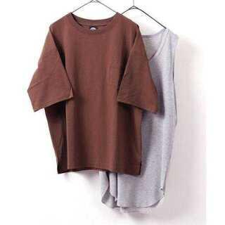 フリークスストア(FREAK'S STORE)のサーマルレイヤード 半袖Tシャツ&タンクトップ(Tシャツ/カットソー(半袖/袖なし))