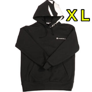 JACKALL - ジャッカル プルオーバーフーディビッグロゴ ブラック XL  新品未使用品