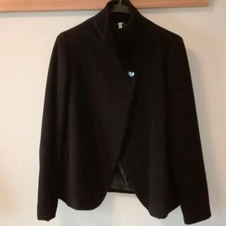 ムジルシリョウヒン(MUJI (無印良品))の無印良品 ポンチョ風コート(ピーコート)