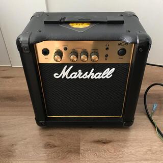美品 未使用 Marshall MG10G マーシャルアンプ ゴールド