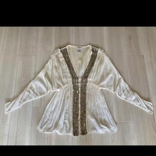 クロエ(Chloe)のクロエ ビンテージ ドレスシャツ ブラウス(シャツ/ブラウス(長袖/七分))