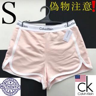 Calvin Klein - レア 新品 Calvin USA カルバンクライン ショートパンツ ピンク S