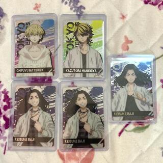 講談社 - 東京リベンジャーズ メタルカード 5枚セット 硬質ケース入り
