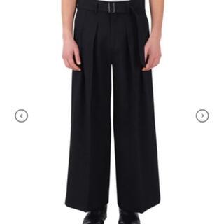 LAD MUSICIAN - Liberum 4tuck wide pants , Masu ,oamc