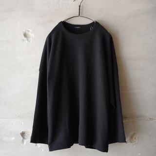 COMOLI - COMOLI(コモリ) ウールフットボールTシャツ