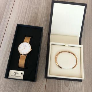 ダニエルウェリントン(Daniel Wellington)のダニエルウェリントン 腕時計 バングル レディース(腕時計)