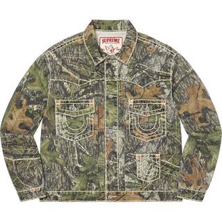 Supreme - M 枯葉 Supreme True Religion Denim Jacket