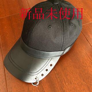ディーゼル(DIESEL)のDIESEL COSNAP リングキャップ ブラック 帽子(キャップ)