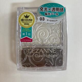 CEZANNE(セザンヌ化粧品) - セザンヌ パールグロウハイライト 03 オーロラミント(2.4g)