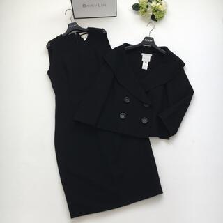 celine - 美品 セリーヌ CELINE ワンピース セットアップ スーツ ブラック