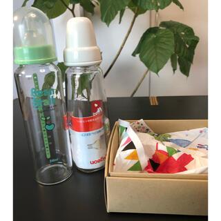Pigeon - (未使用品)ビーンスターク&ピジョン 哺乳瓶セット