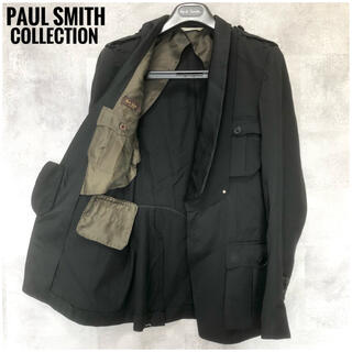 ポールスミス(Paul Smith)の極美品⭐️異素材ドッキング⭐️Paul Smith テーラードジャケット L(テーラードジャケット)