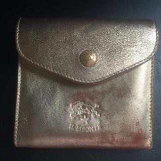イルビゾンテ(IL BISONTE)のゴールド本革財布(財布)