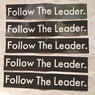 BMX FTL ステッカー5枚セット Follow the leader