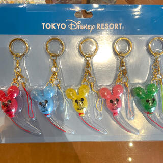 Disney - ディズニー バルーン ストラップ 風船 キーチェーン