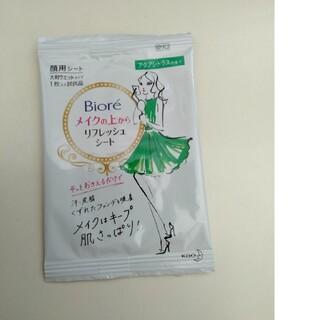 ビオレ メイクの上からリフレッシュシート シトラス(化粧水/ローション)