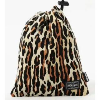 WACKO MARIA - ワコマリア ポーター ショルダーポーチ レオパード バッグ 巾着