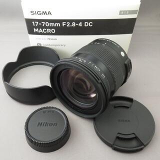SIGMA - シグマ ニコン用17-70mmF2.8-4DC OS(C)