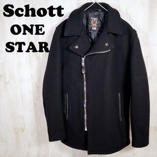 schott - ショット Schott ウールジップライダースジャケット ピーコート ワンスター