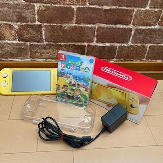 任天堂 - あつまれ どうぶつの森 &Nintendo Switch Lite イエロー」