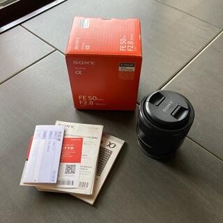 SONY - SONY FE 50F2.8 MACRO Eマウント SEL50M28 レンズ