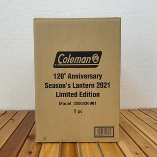 Coleman - コールマン 120th アニバーサリー シーズンズランタン2021 限定モデル