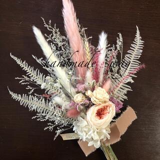 ♡No.581 にいみ様専用white*pink スワッグブーケ♡(ドライフラワー)