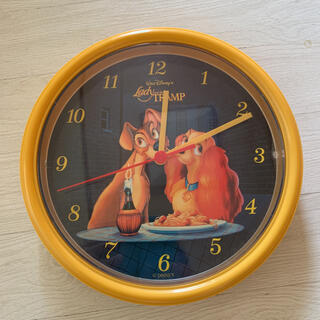 Disney - ★超レア★わんわん物語 掛け時計