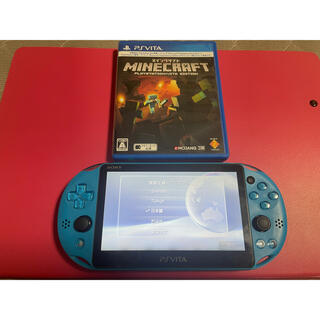 PlayStation Vita - vita アクアブルー 比較的良品 3