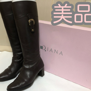DIANA - DIANA 本革ジョッキーブーツ