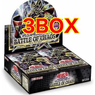 ユウギオウ(遊戯王)のバトル・オブ・カオス  3box 遊戯王 初回生産(Box/デッキ/パック)