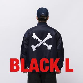 W)taps - WTAPS TEAM JACKET BLACK L