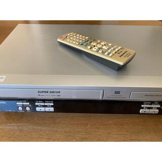 パナソニック(Panasonic)の【ジャンク品】Panasonic DVDプレーヤー一体型ビデオデッキ(DVDプレーヤー)